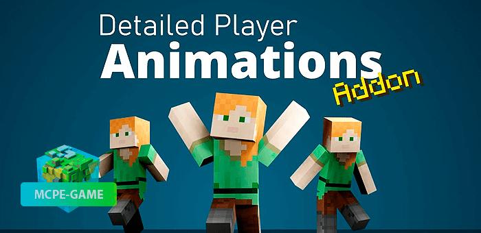 Detailed Player Animations — Мод на детальные анимации персонажа