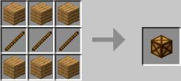 Рецепт крафта верстака для изготовления мебели