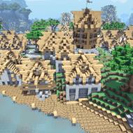 Medieval Village — Карта с красивой средневековой деревней