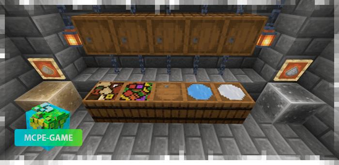 Новые блоки и предметы из мода More Food