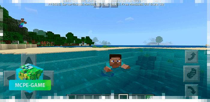 Анимация плавания