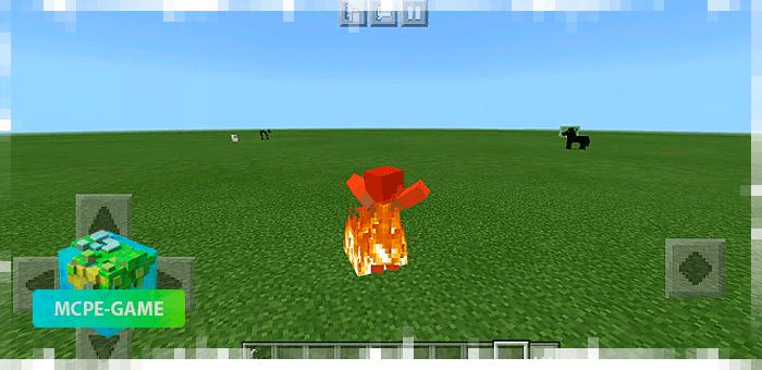 Анимация горения в огне