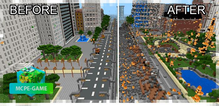 Nuclear Weapons — Мод на ядерное оружие для Майнкрафт ПЕ