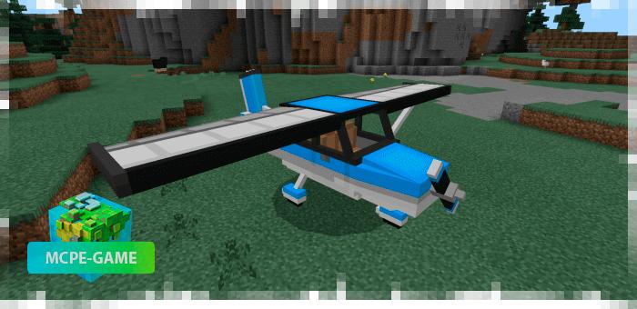 Маленький самолет из мода PlaneCraft