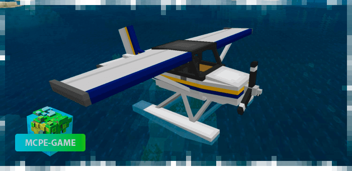 Гидросамолет из мода PlaneCraft