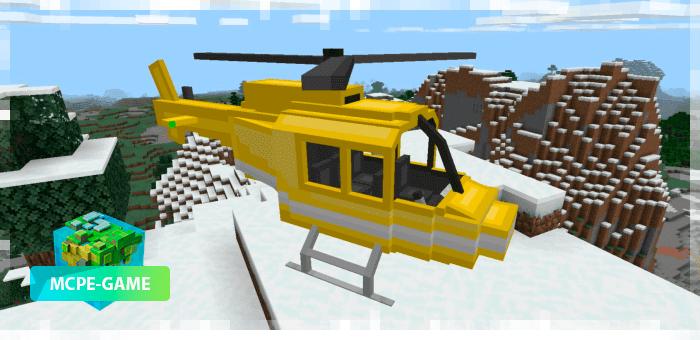 Вертолет из мода PlaneCraft