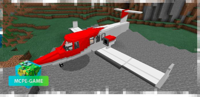 Частный самолет из мода PlaneCraft