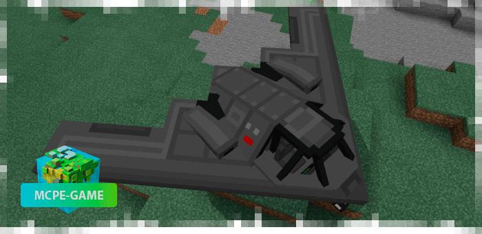 Военный бомбардировщик из мода PlaneCraft