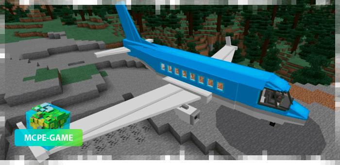 Аэробус из мода PlaneCraft