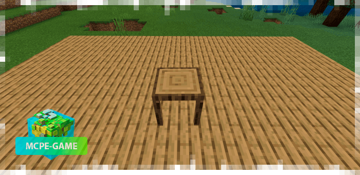 Other furniture from the Potopo: Furniture mod for Minecraft PE