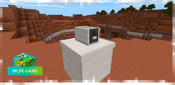 Appliances from the Potopo: Furniture mod for Minecraft PE