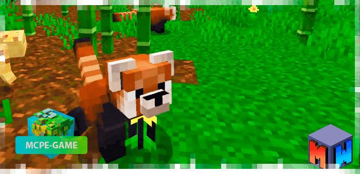 Red Panda - Mod for Red Pandas