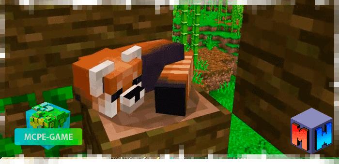 Red Panda — Мод на красных панд
