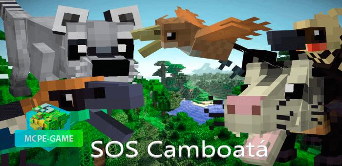 SOS Camboata — Мод, призванный спасти животных Бразилии