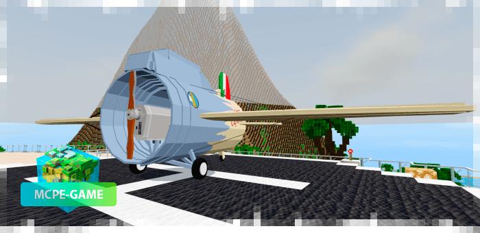 Stipa Caproni airplane mod