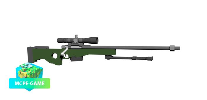 Найперская винтовка AWP из мода ActualGuns 3D