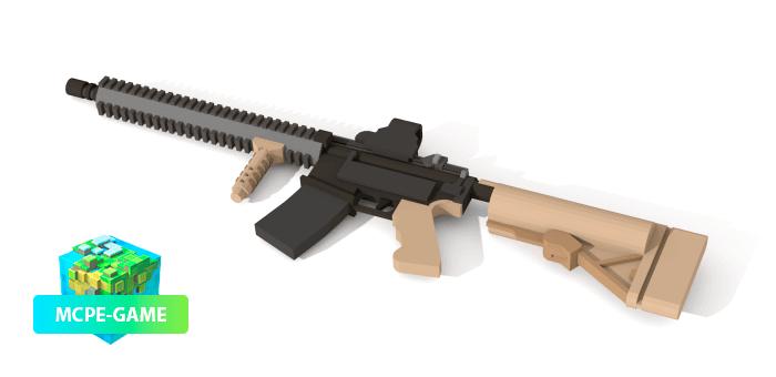 M4A1 из мода на оружие ActualGuns 3D