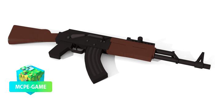AK47 из мода на оружие ActualGuns 3D