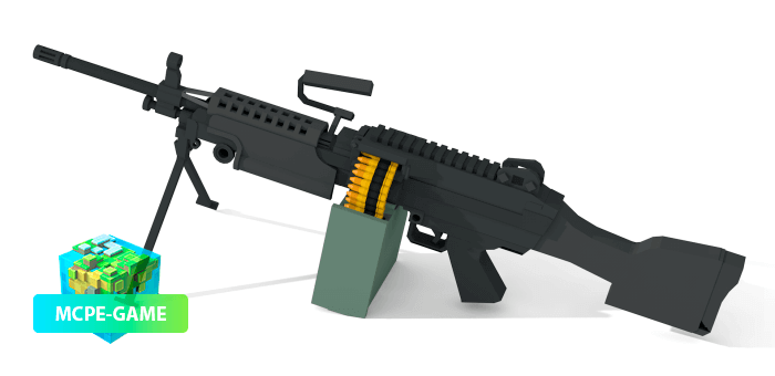 M249 из мода на оружие ActualGuns 3D