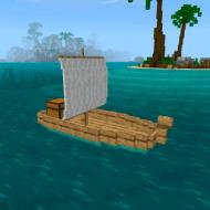 Boats Addon — Мод на деревянные корабли с парусом