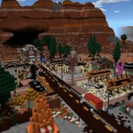 Радиатор Спрингс — Карта из мультфильма Тачки