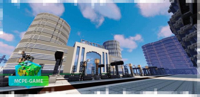 Evercity — Большой современный мегаполис