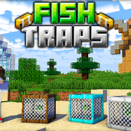 Fish Traps — Мод на автоматические рыбные садки