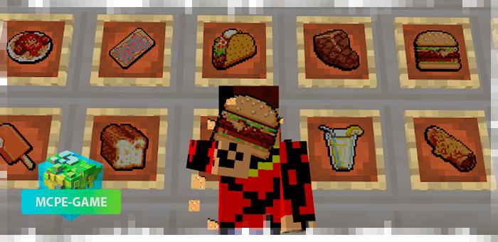 Новая еда и напитки из мода FoodCraft