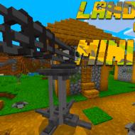 Военный мод с минами, миниганом и ракетными установками