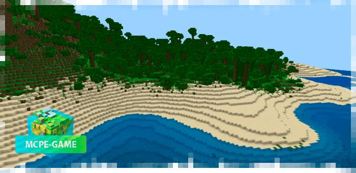 Jungle Islands - Map with 10 huge islands