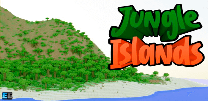 Jungle Islands — Карта с 10 огромными островами