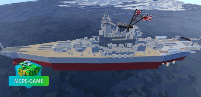 """Линкор """"Ямато"""" — Мод на огромный военный корабль"""