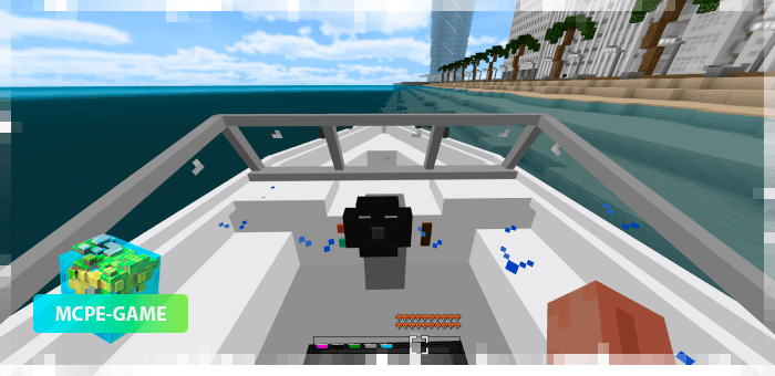 Motor Boat — Мод на современную моторную лодку