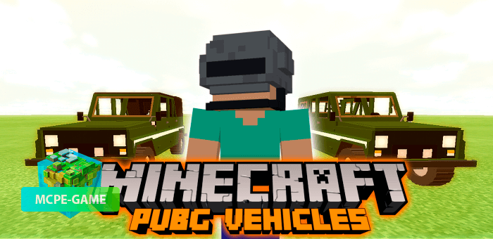 PUBG Vehicles — машины и лодка из PUBG