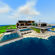 Карта: Современный особняк на острове