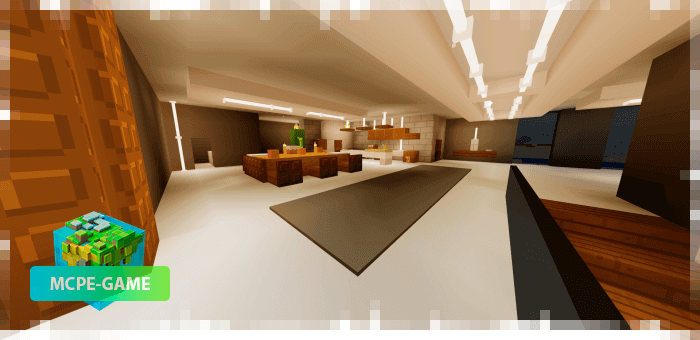 Комнаты в современном особняке