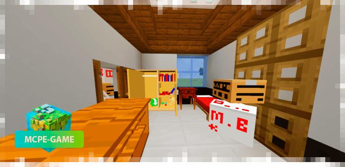 Realistic Storage Furnitures — Мод на мебель для хранения вещей
