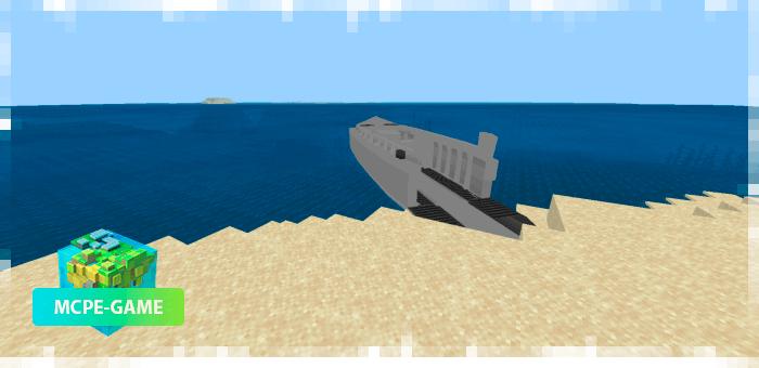 Военные корабли в Майнкрафт ПЕ