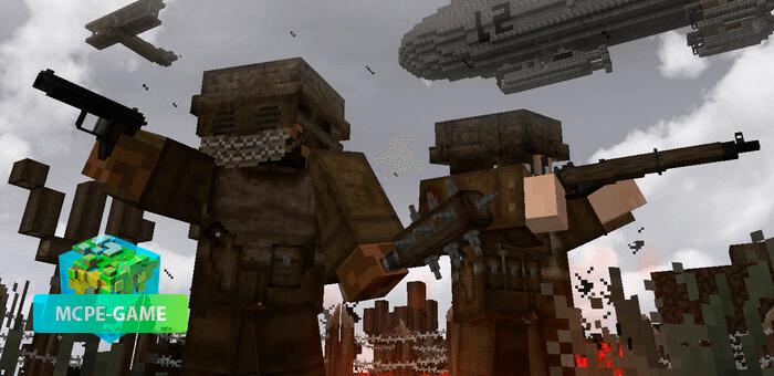 D-DAY WW2 — Майнкрафт мод на военную технику и оружие