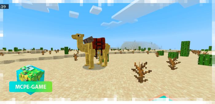 Верблюды — новые животные в Майнкрафт ПЕ