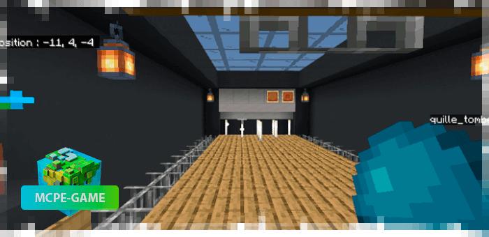 Bowling Official — Карта для игры в боулинг на Майнкрафт ПЕ