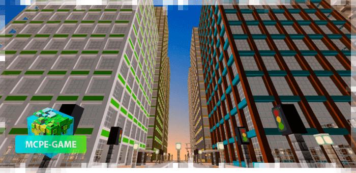 Bricksville — Карта с огромным городом