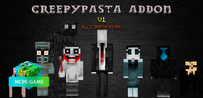 CreepyPasta — Мод на 17 ужасных и страшных монстров