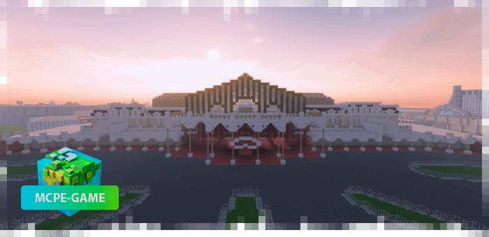Disneyland Resort — Карта Диснейленда в Токио