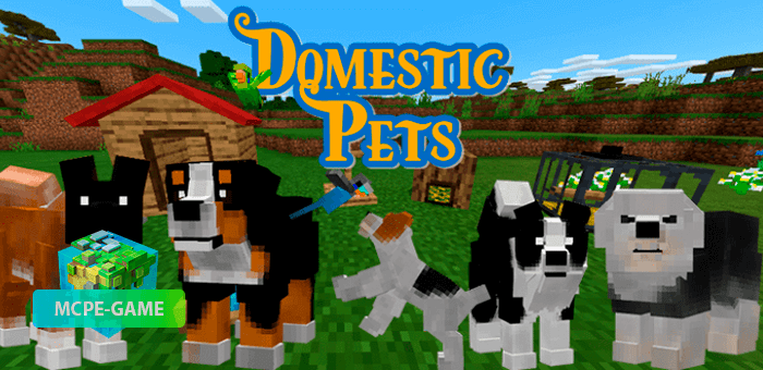 DomesticPets — Мод на домашних животных и питомцев