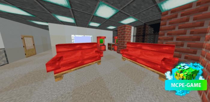Furnilla — Мод на мебель с поддержкой текстурпаков