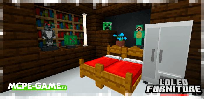 Новая мебель и декор из мода Loled Furniture