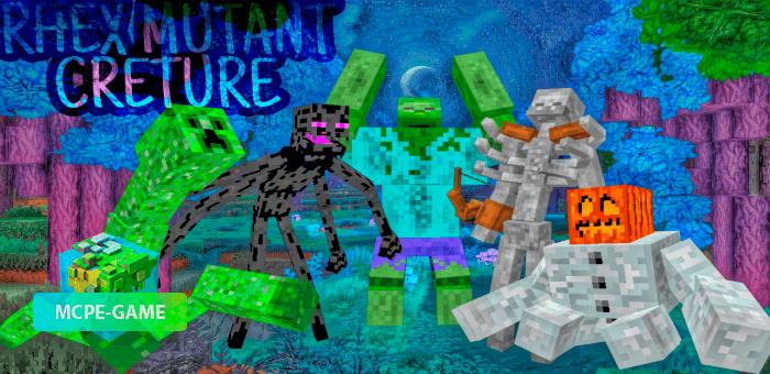 Mutant Creture — Мод на ужасные версии мобов