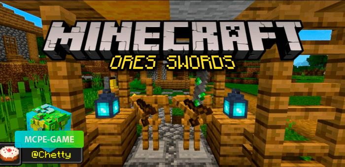 Ores Swords — Мод на крафт оружия из любой руды