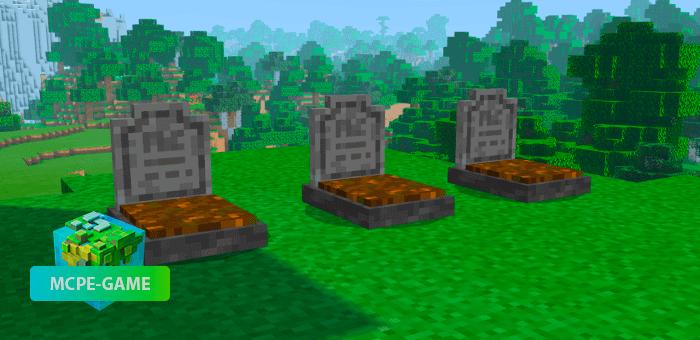 Player Graves — Майнкрафт мод на могилы после смерти